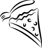 Väggord/väggdekor pizza