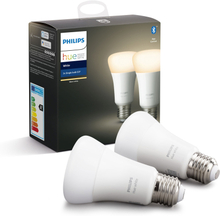 Philips Lampa Hue White A60 E27 2-pack