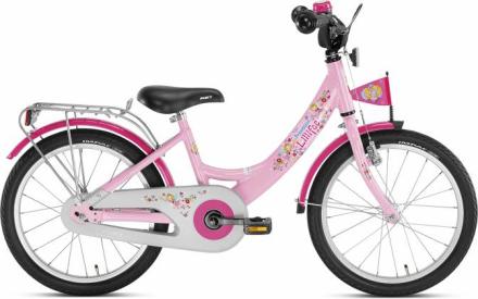 "PUKY ZL 18"" Alu Pigecykel, Pink"