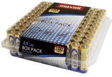 MAXELL Maxell AA LR6 100pk Box Pack 790409 Replace: N/AMAXELL Maxell AA LR6 100pk Box Pack
