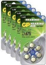 GP BATTERIES GP ZA 675-D6 / PR44, 5-pack GPZA675-D6-5 Replace: N/AGP BATTERIES GP ZA 675-D6 / PR44, 5-pack