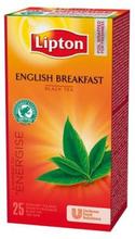 Lipton Te LIPTON påse English Breakfast 25/FP 5900300586929 Replace: N/ALipton Te LIPTON påse English Breakfast 25/FP