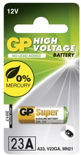 GP BATTERIES GP 23AE-C1 Ultra MN21. LRV08 GP-23AE Replace: N/AGP BATTERIES GP 23AE-C1 Ultra MN21. LRV08