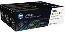 HP Tonerkassett MultiPack C,M,Y, 2.600 Sidor CF370AM Replace: N/AHP Tonerkassett MultiPack C,M,Y, 2.600 Sidor