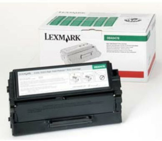 LEXMARK LEXMARK Svart return Corporate Print Cartridge High 08A0144 Replace: N/ALEXMARK LEXMARK Svart return Corporate Print Cartridge High