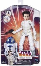 Hasbro Star Wars Forces of Destiny: Princess Leia & R2D2, Docka 28 cm