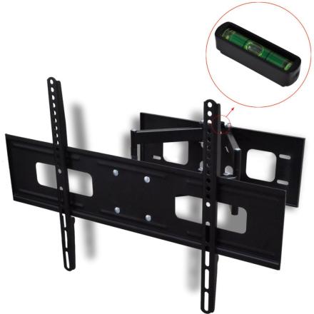 """vidaXL dobbeltarmet drejeligt vipbart TV-ophæng til væggen 3D 600 x 400 mm 37"""" - 70"""
