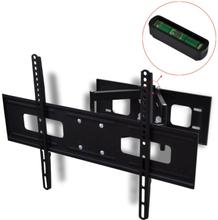 """vidaXL dobbeltarmet drejeligt vipbart TV-ophæng 3D 600x400 mm 37""""- 70"""