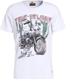True Religion DESERT BIKE Tshirt med tryck white