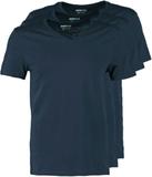 Pier One 3 PACK Tshirt bas dark blue