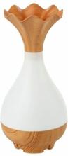 eStore Jade Bottle aromaterapi luftfuktare och lampa - Ljusträ