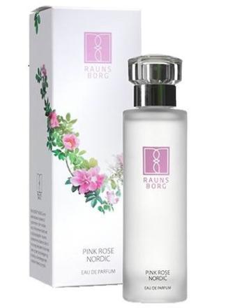 Pink rose Eau de parfum Raunsborg Nordic, 50ml.
