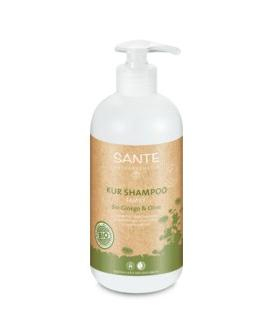 Shampoo treatment organic gingo & olive, 500ml.