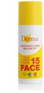 Derma Ansigtssolcreme SPF 15, 50ml