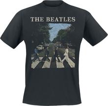 The Beatles - Abbey Road -T-skjorte - svart