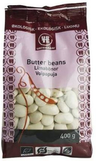 Urtekram Butter beans Ø, 275g.