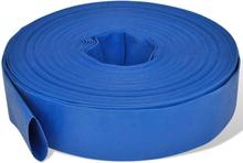 """vidaXL flad slange 50 m 2"""" PVC til transport af vand"""