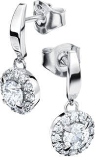 Örhängen 18k vitguld Fjällbrud mg029 0,70 ct diamant