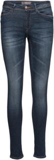 Erin Izaro Medium Skinny Jeans Blå ICHI