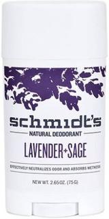 Schmidt's Deodorant stick Lavender+Sage, 92g.