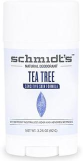 Schmidt's Deodorant stick Tea Tree Sensitive hud, 92g.