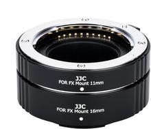 JJC Mellanringar 11mm 16mm elektronisk för Fujifilm FX