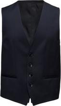 Wilson_cyl Kostymväst Blå BOSS
