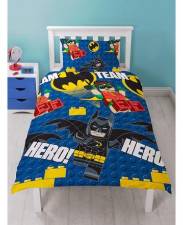 Lego Batman Movie Hero Sengetøj 2i1 design - Only4kids