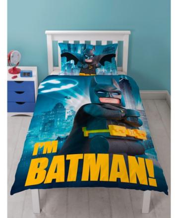 Lego Batman Movie Sengetøj 2i1 design - Only4kids