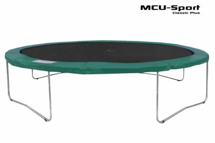 MCU-Sport Classic Plus 4,3m Trampolin Grøn