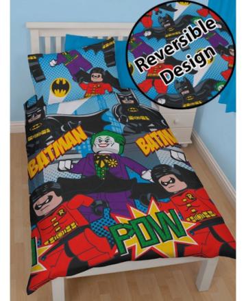 Lego Batman Sengetøj 2 i 1 design - Only4kids