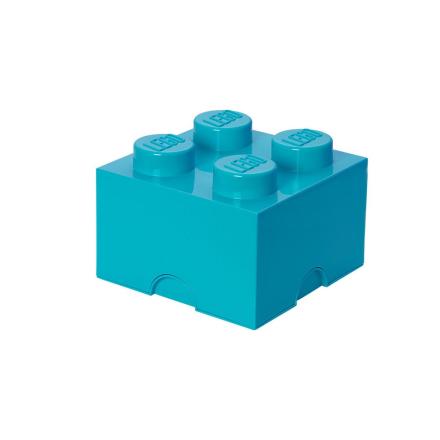 Lego Klods til opbevaring Azurblå - Only4kids