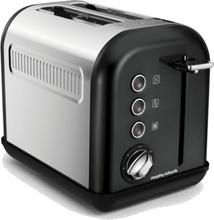 Morphy Richards Accents 2-slice Black. 10 stk. på lager
