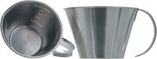 Köksmått i rostfritt stål - Låg modell, 500 ml