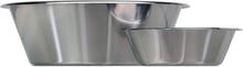 Bunke i rostfritt stål - Låg modell, 1 L