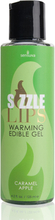 Sensuva - Sizzle Lips Caramel Apple Warming Edible Gel 125 ml