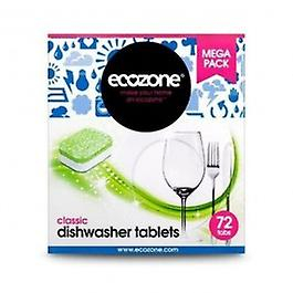 Ecozone Økozone - Classic opvaskemaskine tabletter 72 tablet 250ML