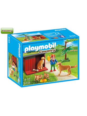 - Country - Golden Retrievers with Toy - 6134 - Proshop