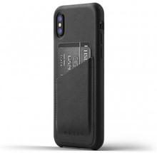 Mujjo Full Leather Wallet Case - Plånboksfodral av äkta läder för iPhone X  (Färg  5ad4fb77cc625
