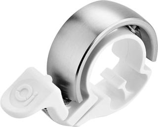 Knog Oi Classic Ringklocka Limited Edition vit/silver Small (22.2mm) 2018 Ringklockor