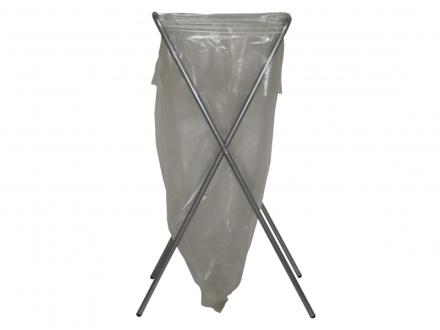 Affaldsstativ Flexus Simplex galvaniseret stål m/gummifød