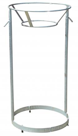 Affaldsstativ t/returplastsæk Stålstativ eksl. poseholder