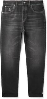 Brunello Cucinelli - Selvedge Denim Jeans - Gray - XL,Brunello Cucinelli - Selvedge Denim Jeans - Gray - L,Brunello Cucinelli - Selvedge Denim Jeans - Gray - XXL,Brunello Cucinelli - Selvedge Denim Jeans - Gray - XXXL,Brunello Cucinelli - Selvedge Denim J