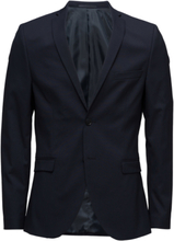 Slhslim-Mylologan Navy Blazer B Noos Blazer Kavaj Blå Selected Homme