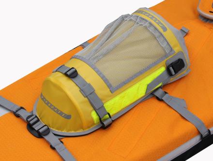 Pakboats PakPod gul/orange 2017 Tilbehør til gummibåde