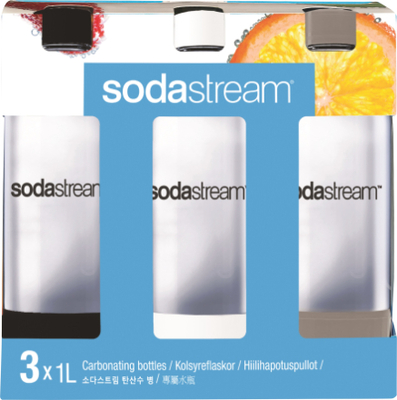 Sodastream Petflaska 1 L 3-pack Plast