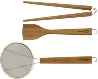 TYPHOON Köksredskap set Bamboo LOTUS