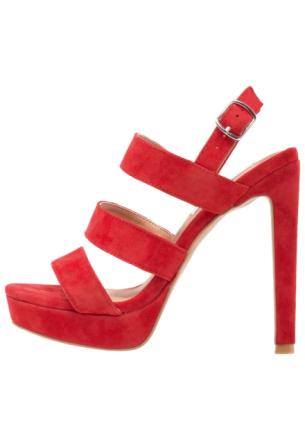 Steve Madden GLAM Sandaler med høye hæler red