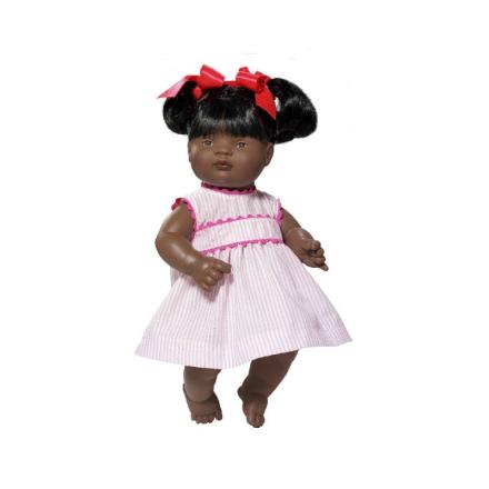 Asi dukke Sammy i kjole - 36 cm - LykkeLeg