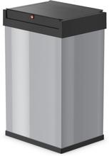 Hailo Soptunna Big-Box Swing storlek L 35 L silver 0840-121